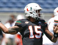 Jarren Williams Wins Miami Starting Quarterback Job Over Tate Martell, N'Kosi Perry