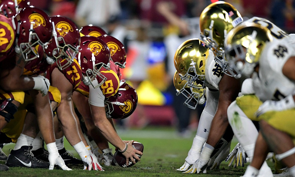 Usc notre dame 2021 betting line bet you look good on the dance floor guitar