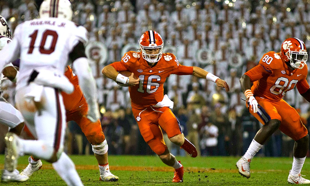 Clemson vs south carolina betting line 2021 presidential candidates minecraft seed finder 1-3 2-4 betting system