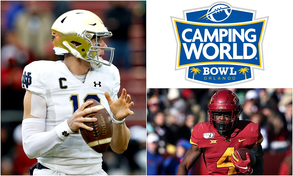 Notre Dame Vs Iowa State Camping World Bowl Prediction Game Preview