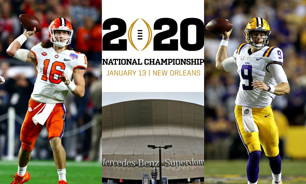 Lsu Vs Clemson Cfp National Championship Prediction Game Preview