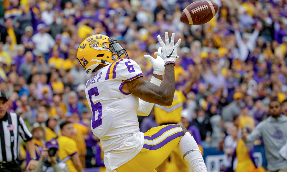 lsu vs south carolina 2021 betting line