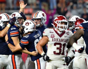 College Football Cavalcade: Arkansas Auburn Debacle, The Team That Could Explode