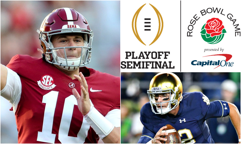 Alabama Vs Notre Dame Rose Bowl Game Prediction Game Preview