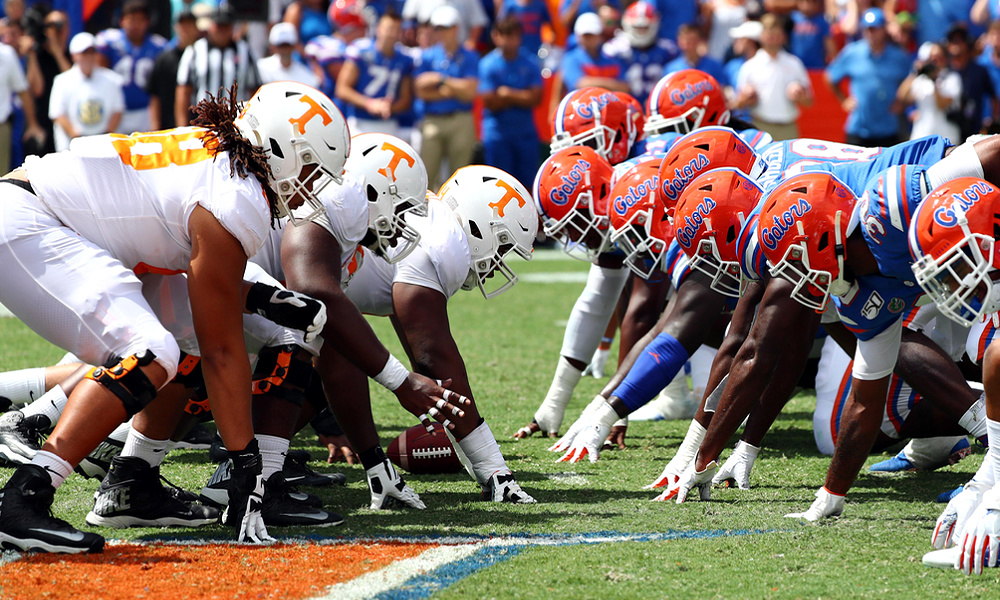 Florida tennessee betting line nrl round 25 2021 betting odds